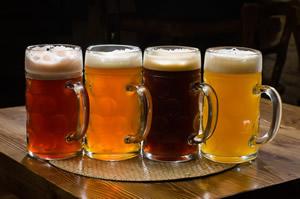 Coronado beer tasting
