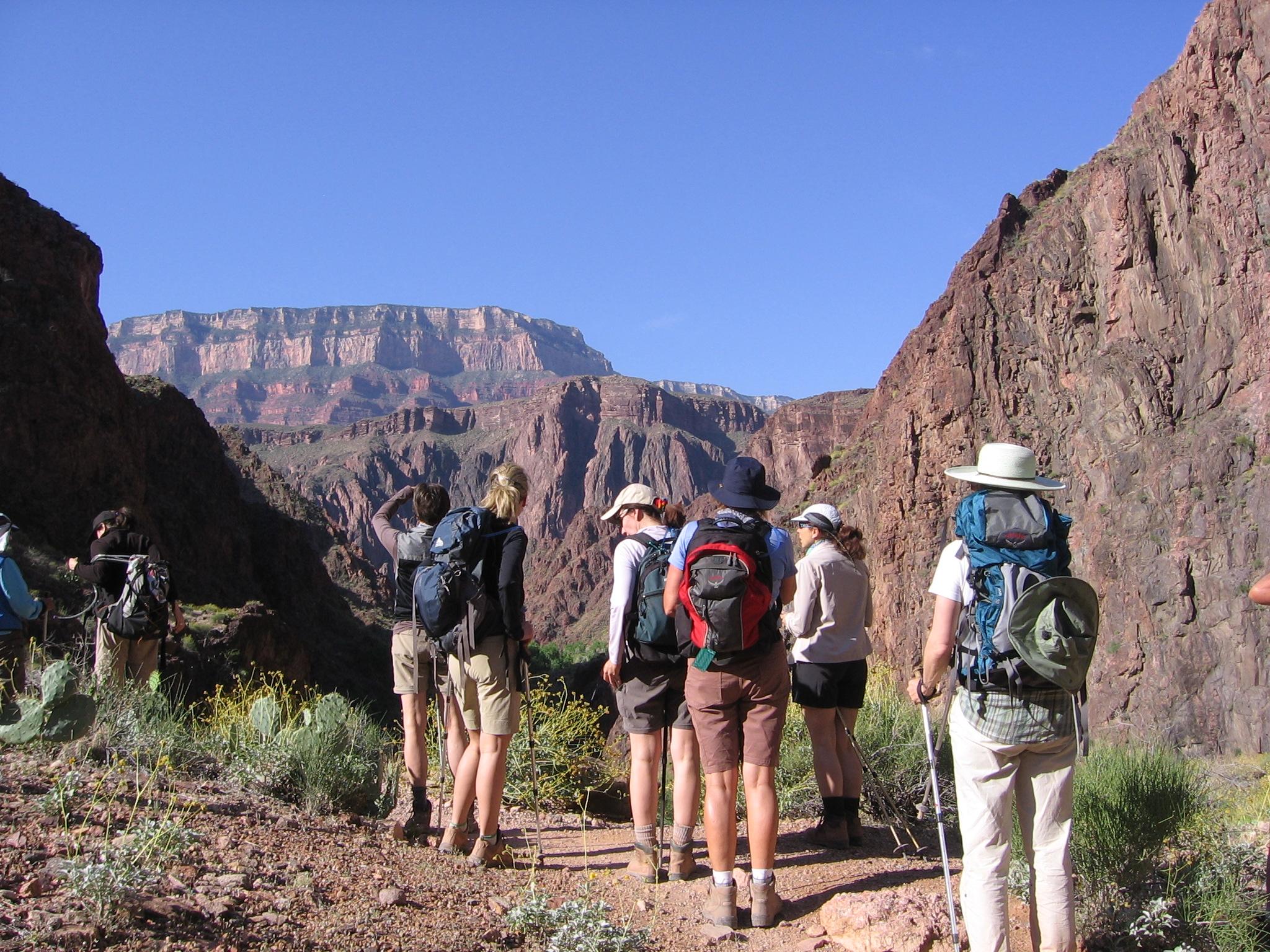 Phantom Ranch Grand Canyon Vandring Weekend