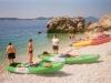 Croatia Dalmatian coast kayaking